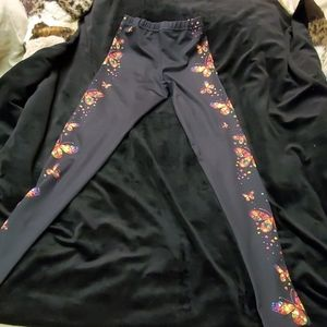 Pants - Butterfly leggings